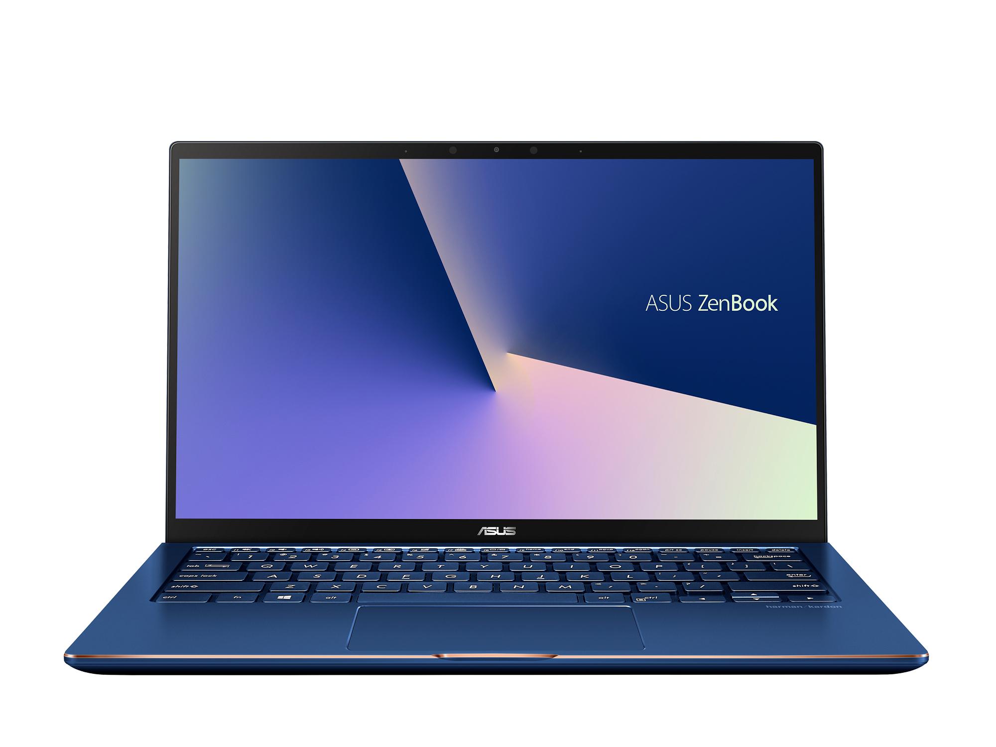 ASUS ZenBook Flip 13_UX362_Royal Blue_4-sided NanoEdge