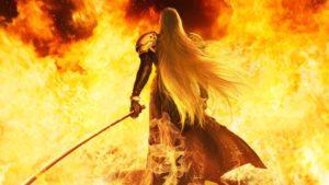 final fantasy vii remake december visuals character sephiroth