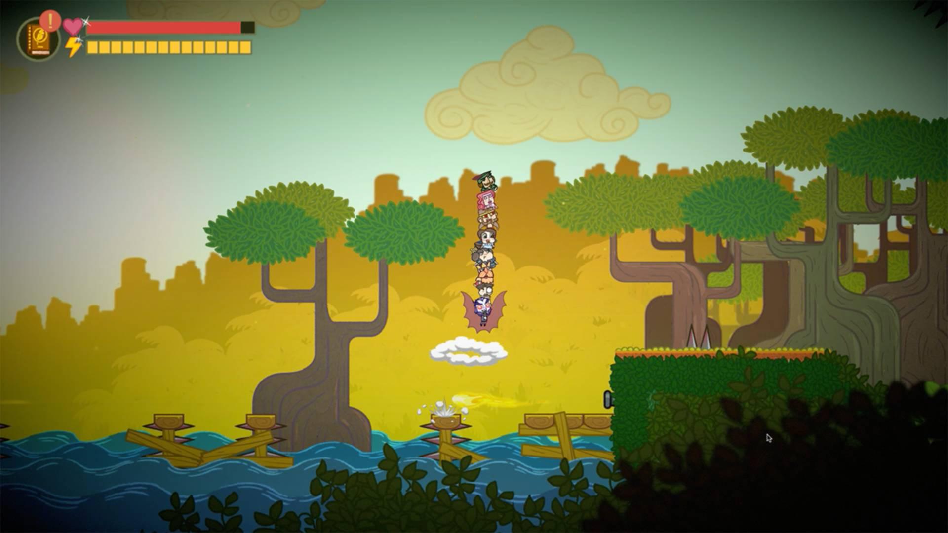 Bookbound Brigade: Jungle Column Jump