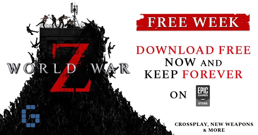 World War Z free on Epic Games Store until 2 April ...