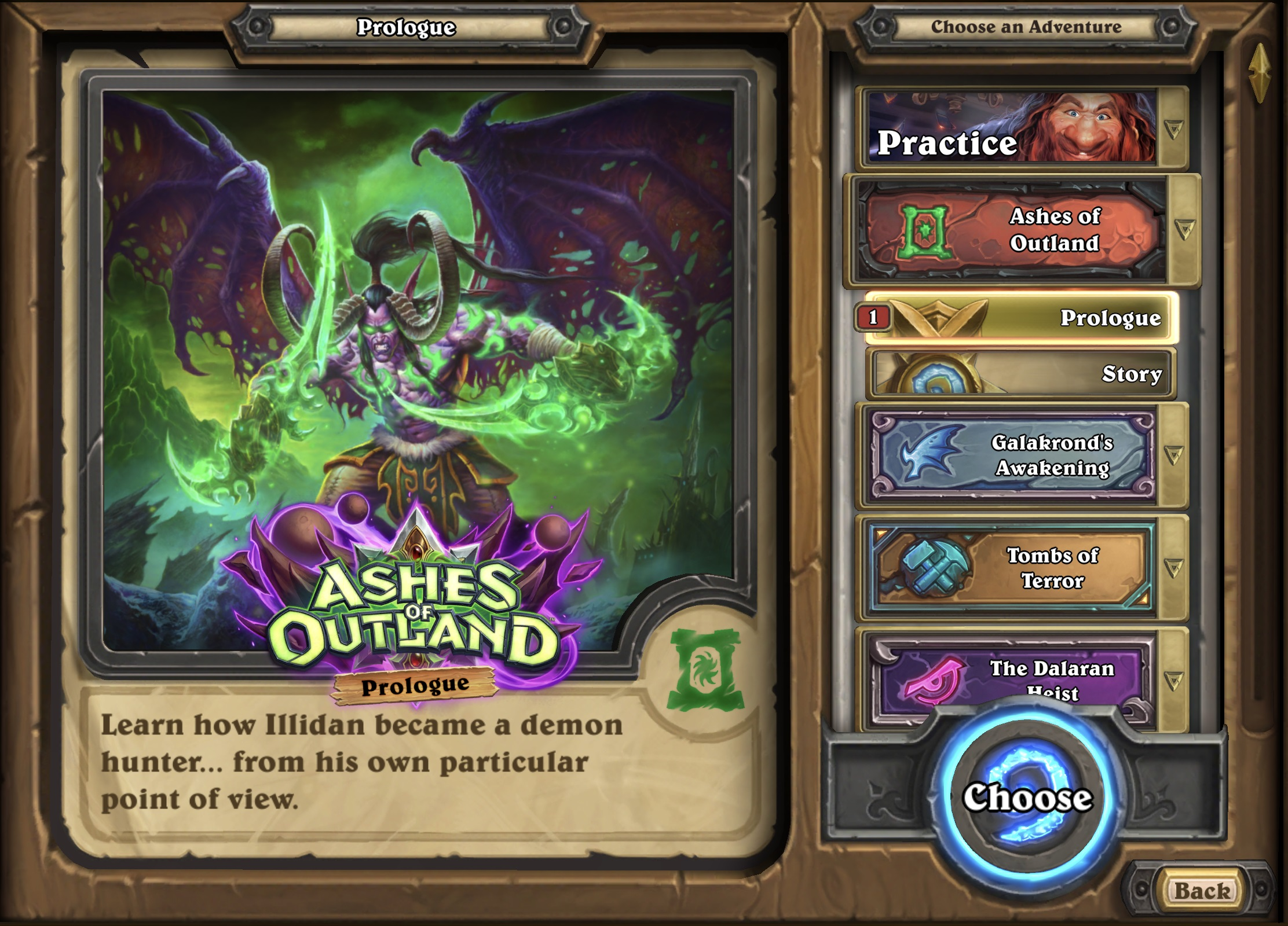 Hearthstone Demon Hunter Prologue Is Now Live—Unlock the Demon Hunter for Free!