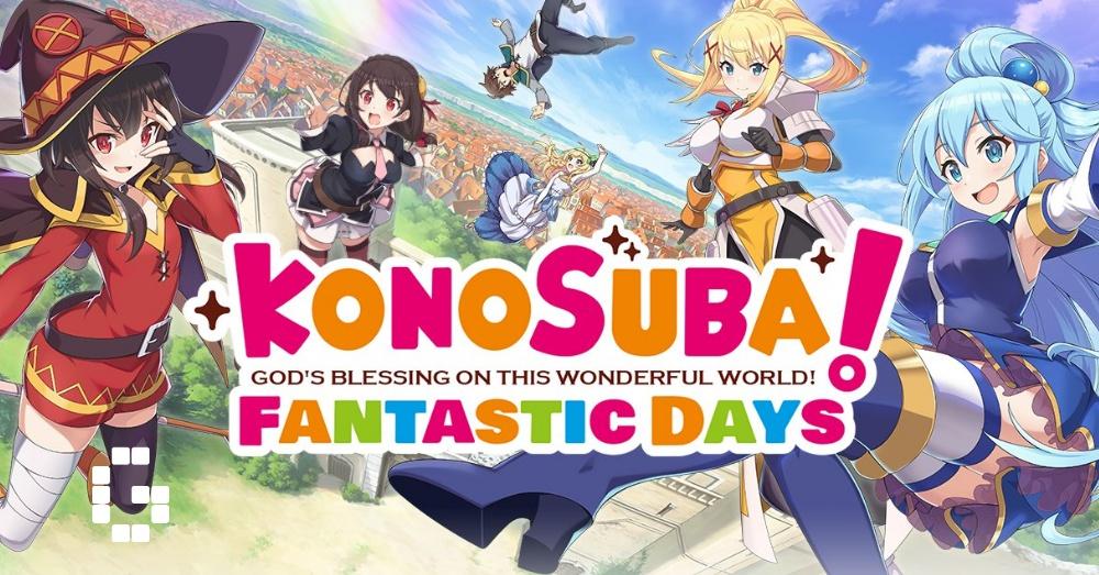 Konosuba Fantastic Days global launch date revealed - GamerBraves