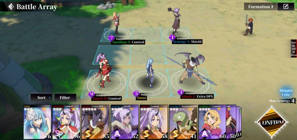 Tensura King of Monsters Team