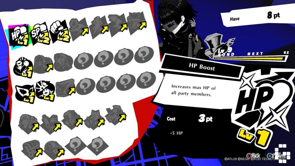 Persona 5 Strikers BOND