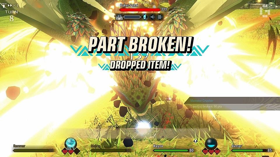 monster stories 2 mechanics part breaking example