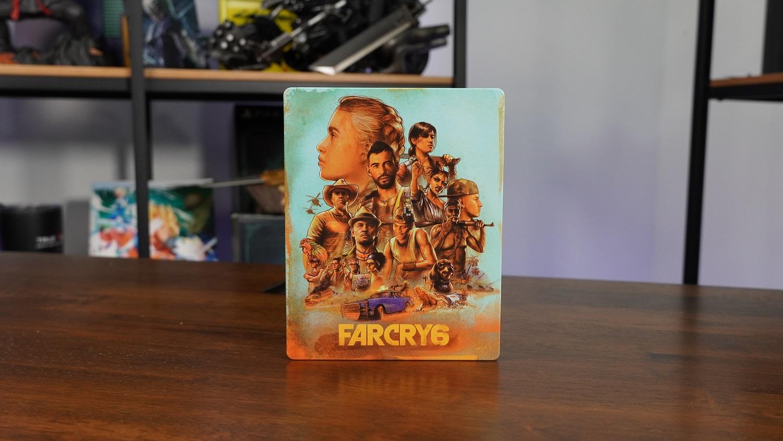 far cry 6 collector's steelbook